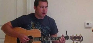 "Play ""Never Say Never"" by The Fray on guitar"