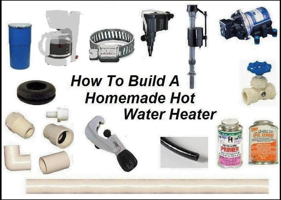 Building Your Own Portable DIY Water Heater