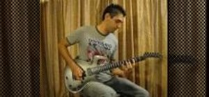 "Play Dream Theater's ""Erotomania"" on the guitar"