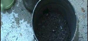 Grow potatoes in a bucket