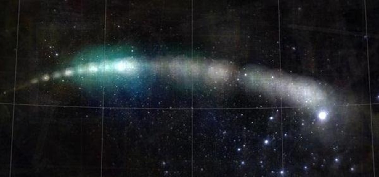 1,300 Different Online Images Used to Create Orbital Map of Comet Holmes