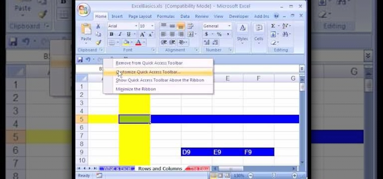 how to use microsoft excel 2007 as a complete beginner  u00ab microsoft office    wonderhowto