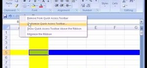 Use Microsoft Excel 2007 as a complete beginner