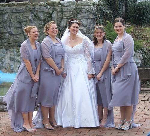 Bridal Party Photo Freak-Out