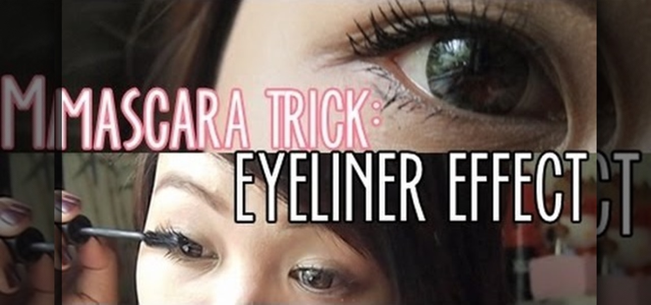 Use Your Mascara as an Eyeliner