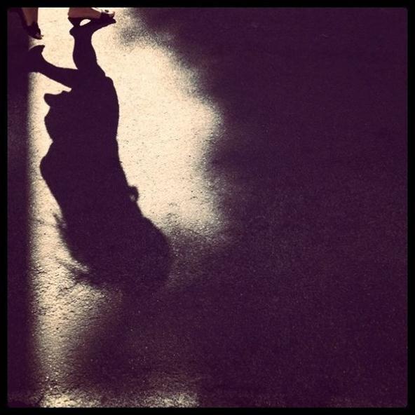 Instagram Challenge: Upside-down girl