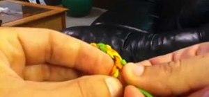 Weave a tri-color friendship bracelet