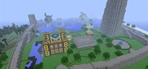 User Andrewed built a beautiful wall around spawn.