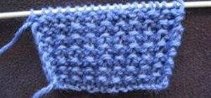 Knit the Tunic Stitch