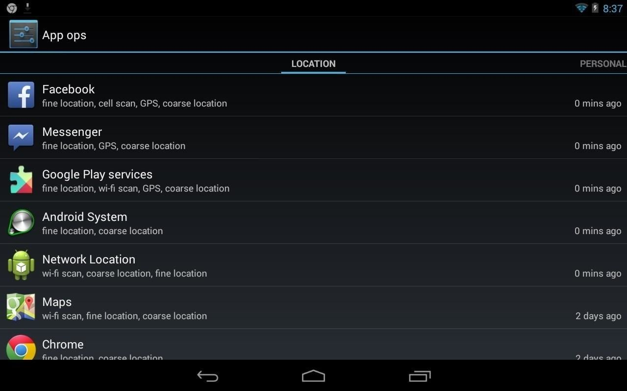 Android 4.4.2 Update Removes Hidden App Ops Privacy Feature: Here's How to Get It Back