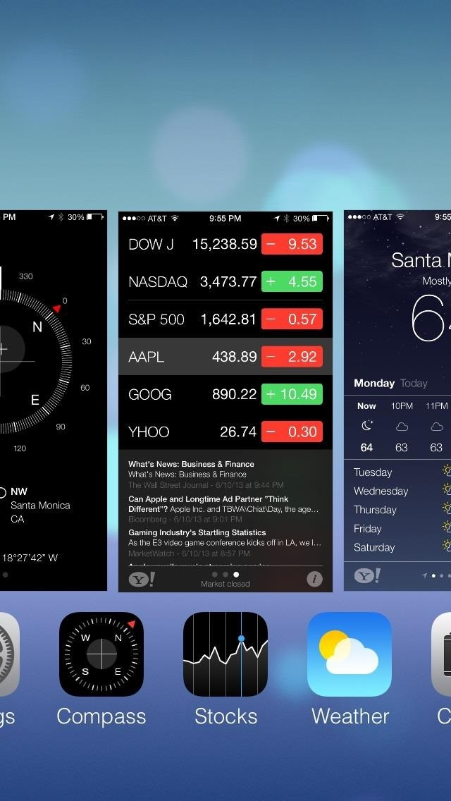 How to Completely Close Out Running Applications in iPhone iOS 7 to