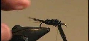 Tie a Montana Nymph for fly fishing