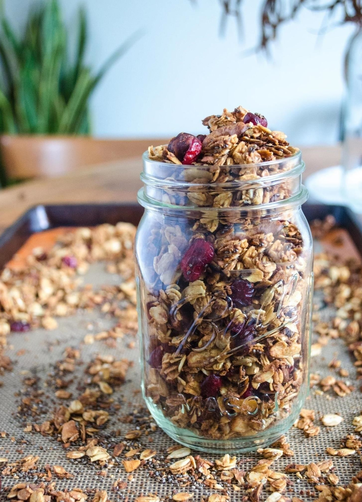 You Don't Need a Recipe to Make Delicious Granola