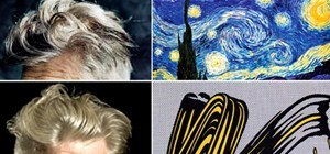 David Lynch's Hair as the World's Greatest Masterpieces (+ How to Meditate)