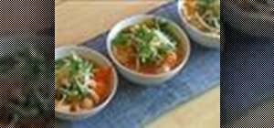 Make Asian style chicken noodle soup