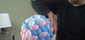 Make a pentakis dodecahedron out of balloons