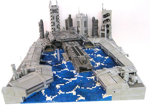 16 Year Old Builds Wicked Lego Star Wars Diorama