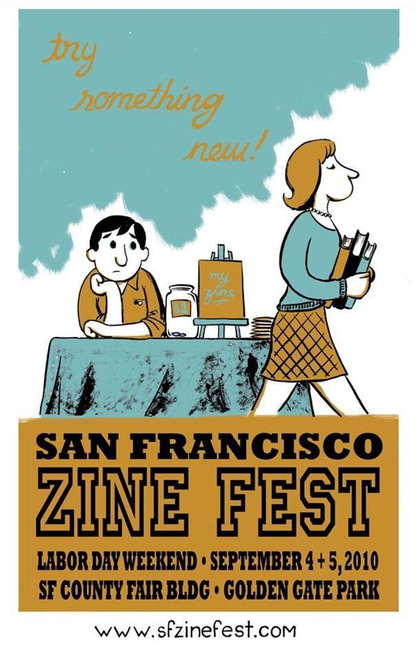 Zine Fest San Francisco 2010
