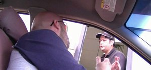 Pull some funny pranks at the drive-thru window