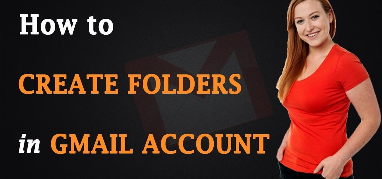 how to create new folder gmail