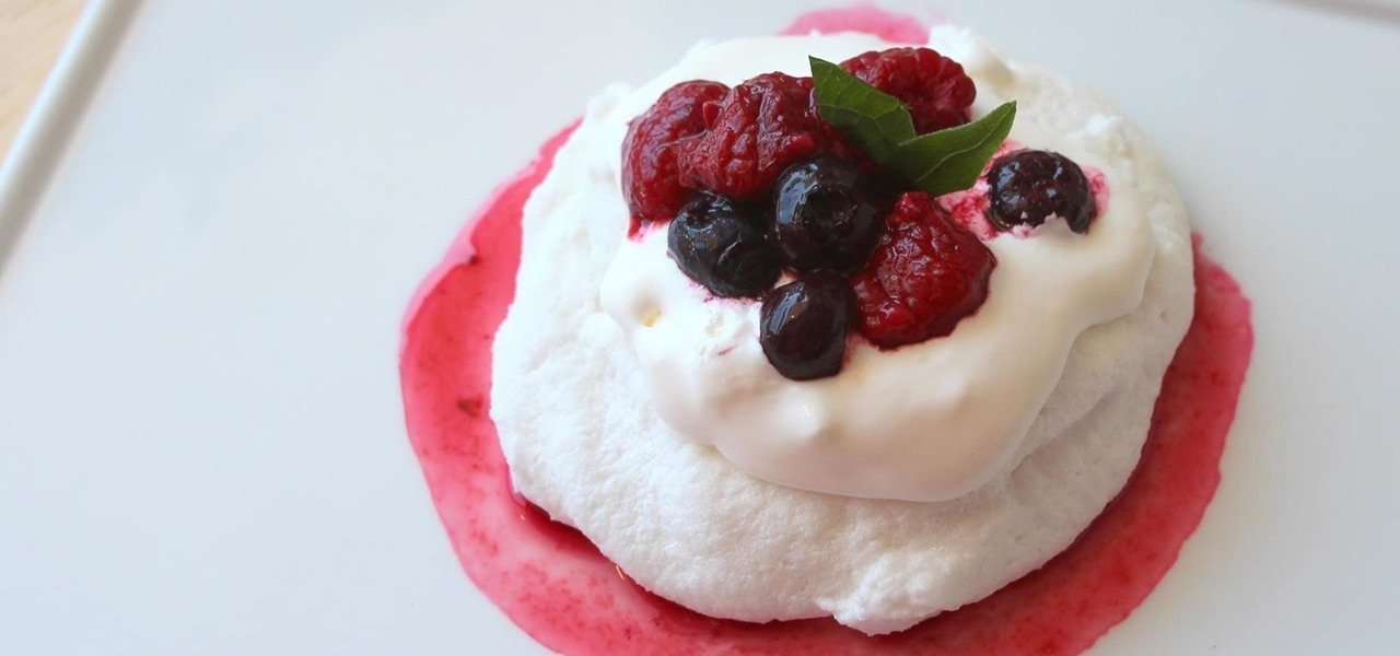 Make Delicious 3-Minute Meringues in Your Microwave
