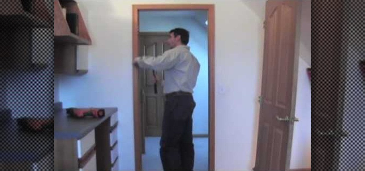 How to Completely remove an interior door in your home « Construction u0026 Repair  WonderHowTo & How to Completely remove an interior door in your home ...