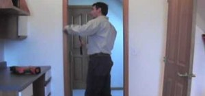 Completely remove an interior door in your home