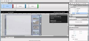 Create a scroll panel in Adobe Fireworks CS5