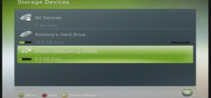 Configure a USB flash drive for modding Xbox 360 memory unit