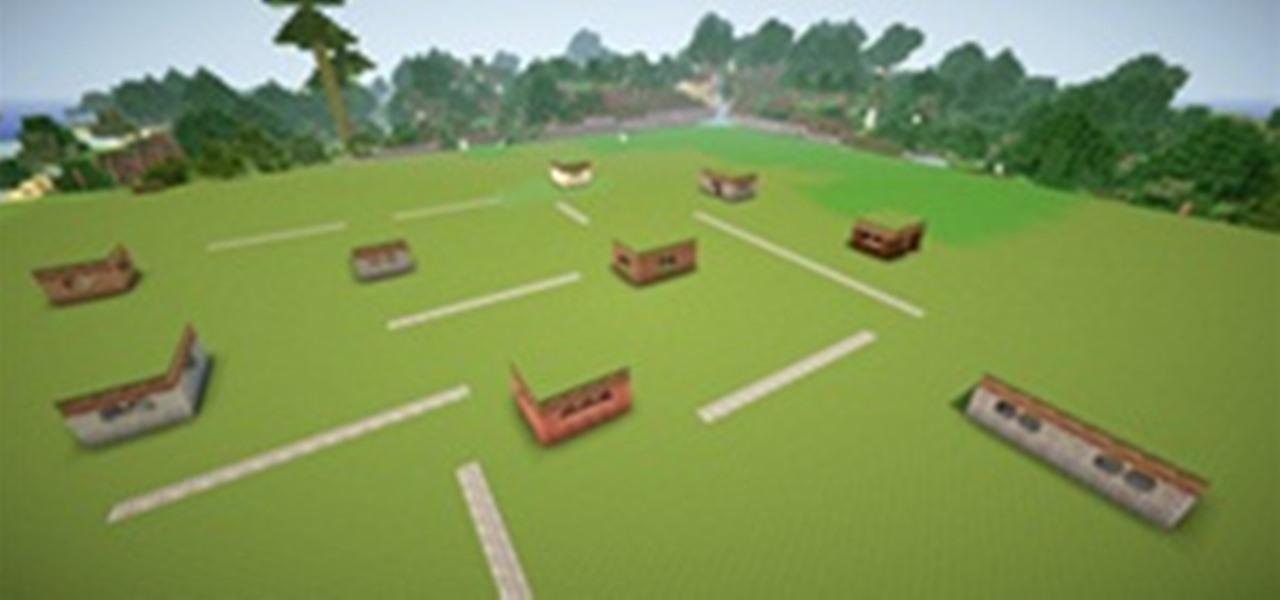 Self Building Village In Minecraft Minecraft