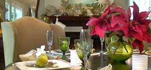 Decorate your table top like an interior designer for the holidays