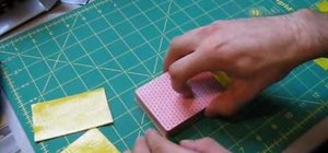 Make a chic duct tape playing card holder