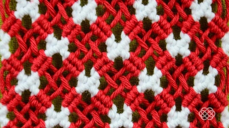 Macrame ABC - Pattern Sample #23