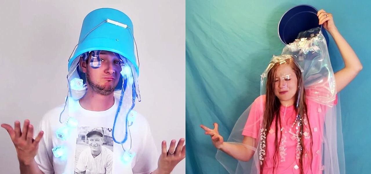 Make a Cheap Ice Bucket Challenge Costume for Halloween