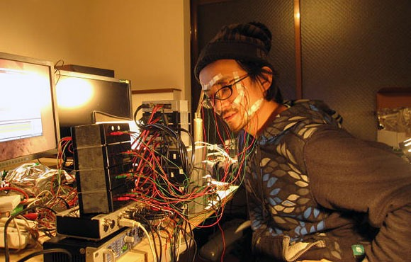 Ouch. Demented Japanese Electrocutes Himself & Others in the Name of Art