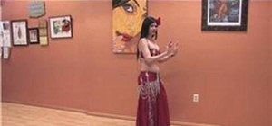 Belly dance the camel move