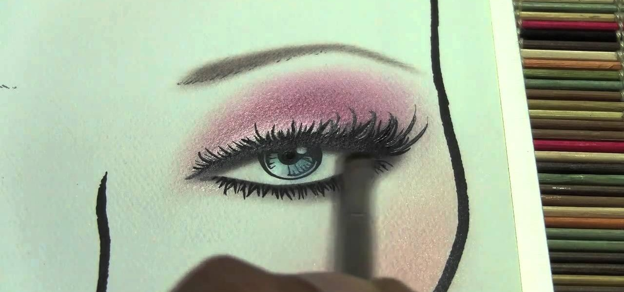 How To Put Professional Finishing Touches On Face Charts For Makeup