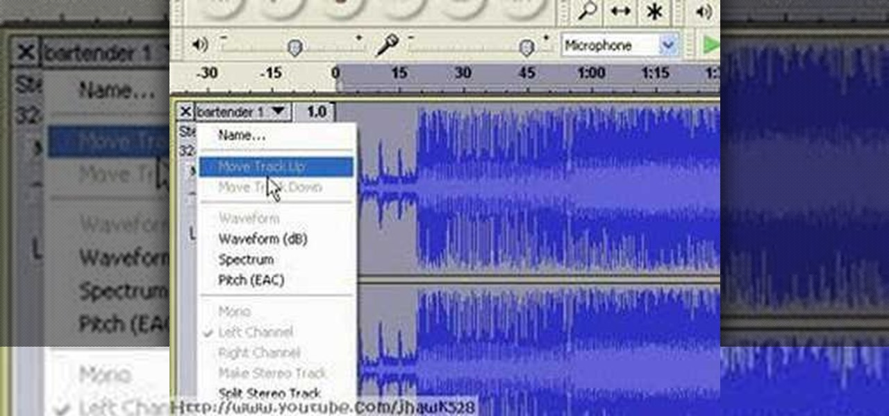 Remove Vocal from an mp3 Using Audacity