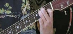 "Play ""Knockin on Heavens Door"" on guitar"