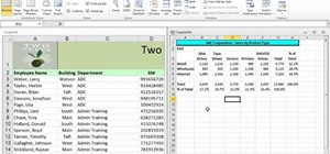 Use navigation shortcuts in Microsoft Excel 2010