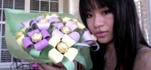Make an incredible chocolate filled bouquet for your mother