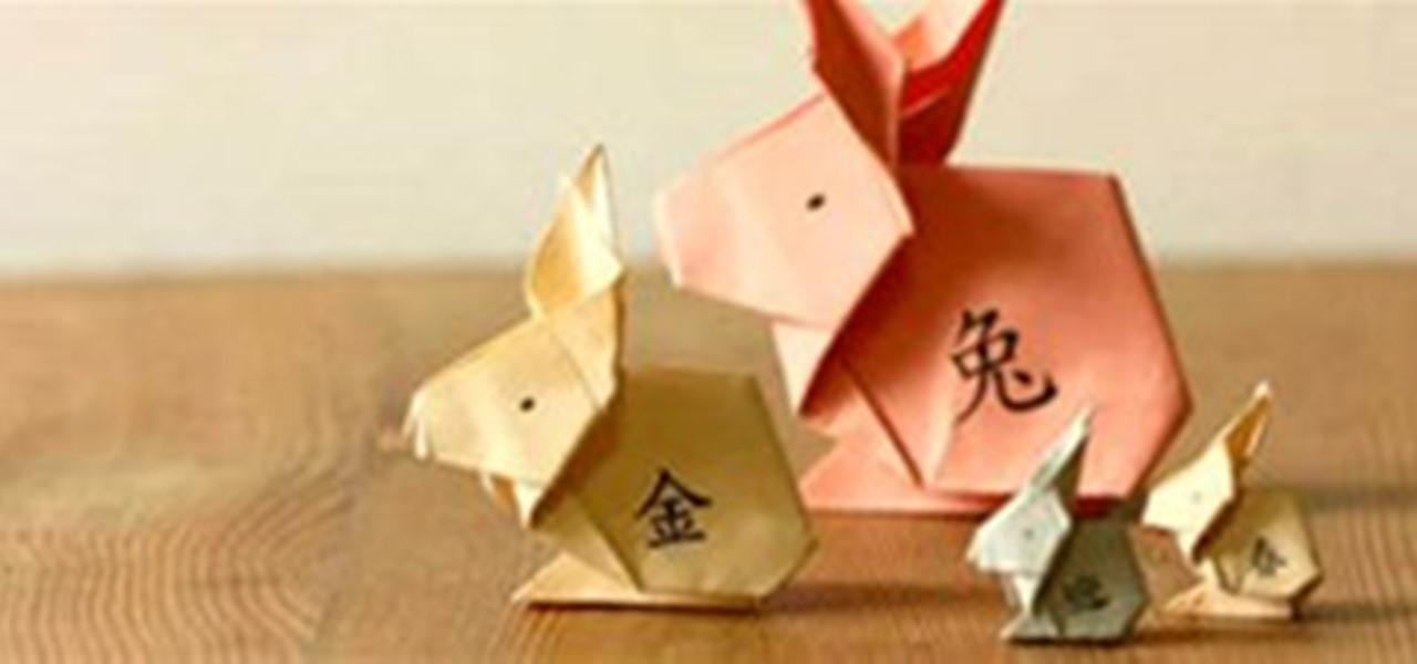 howto fold an origami rabbit 171 origami wonderhowto