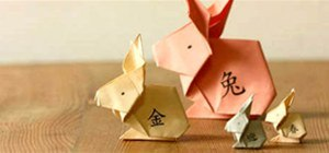 Fold an Origami Rabbit