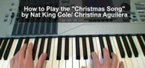 "Play ""The Christmas Song"" on piano à la Nat King Cole"