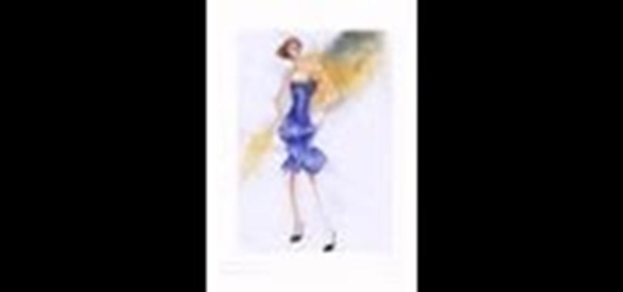 Paint a Cocktail Dress