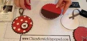 Craft an ornament gift card holder for Christmas