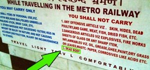 Dead Serious Rules of the Indian Railways