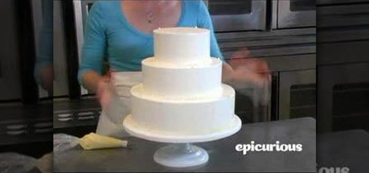 wedding cake how to decorate how to decorate a wedding cake with piping swag 171 cake 22852