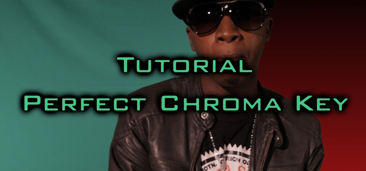 Get a Perfect Chroma Key - Every Time!