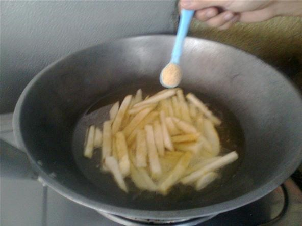 How to Make Camote Fries or Sweet Potato Fries for Breakfast